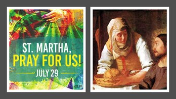 The Feast Day of St. Martha