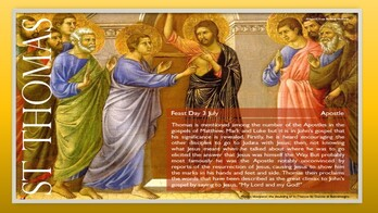 The Feast Day of St. Thomas