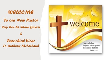 Welcome! to Father Shane & Father Anthony
