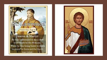 The Feast Day of St. Lawrence