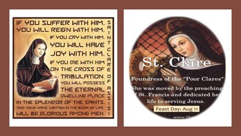 The Feast Day of St. Claire