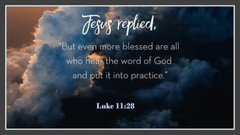 The 20th Sunday of Ordinary Time
