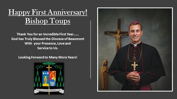 The First Anniversary of the Ordination & Installation of Bishop David Toups