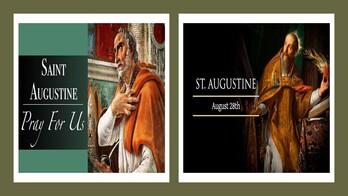 The Feast Day of St. Augustine