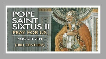 The Feast Day of St. Sixtus II