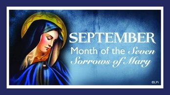 September-Month of the Seven Sorrows of Mary