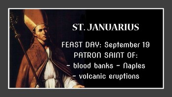 The Feast Day of Januarius