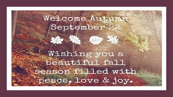 The First Day of Fall
