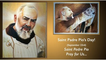 The Feast Day of Padre Pio