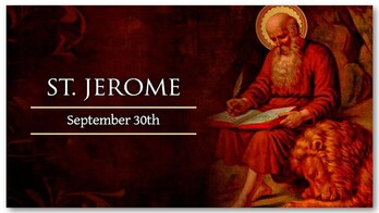 The Feast of St. Jerome