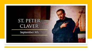 The Feast Day of St. Peter Claver