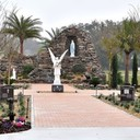 """OUR LADY OF LOURDES PRAYER GARDEN - TO ORDER YOUR PAVER BRICK CLICK """"HERE"""""""