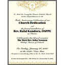 10th Anniversary Celebration of Church Dedication and Installation of Fr. Rafal as pastor, Jan. 26