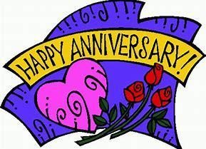 2019 Wedding Anniversaries....click for form