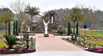 Our Lady of Lourdes Prayer Garden - Order a Paver Brick