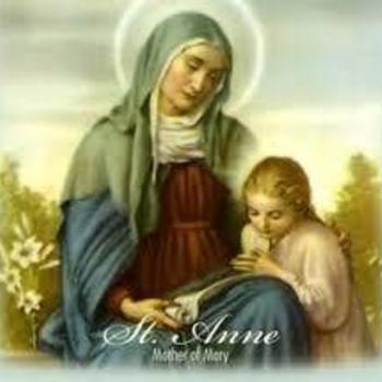 Novena to St. Anne began Friday 7/17