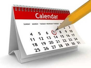 Calendars online and in the bulletin will be updated bi-monthly