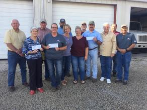 $2000 of the proceeds from the 2019 fish fry went right back into the community.