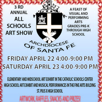 "3rd Annual ""All Schools Art Show"""