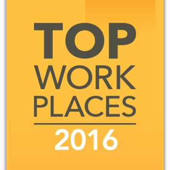 2016 Top Work Place
