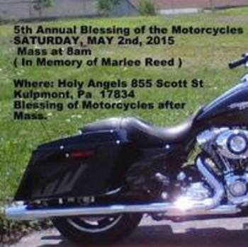 Blessing of Motorcycles and Riders