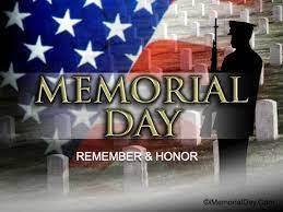 Memorial Day - Church Offices Closed