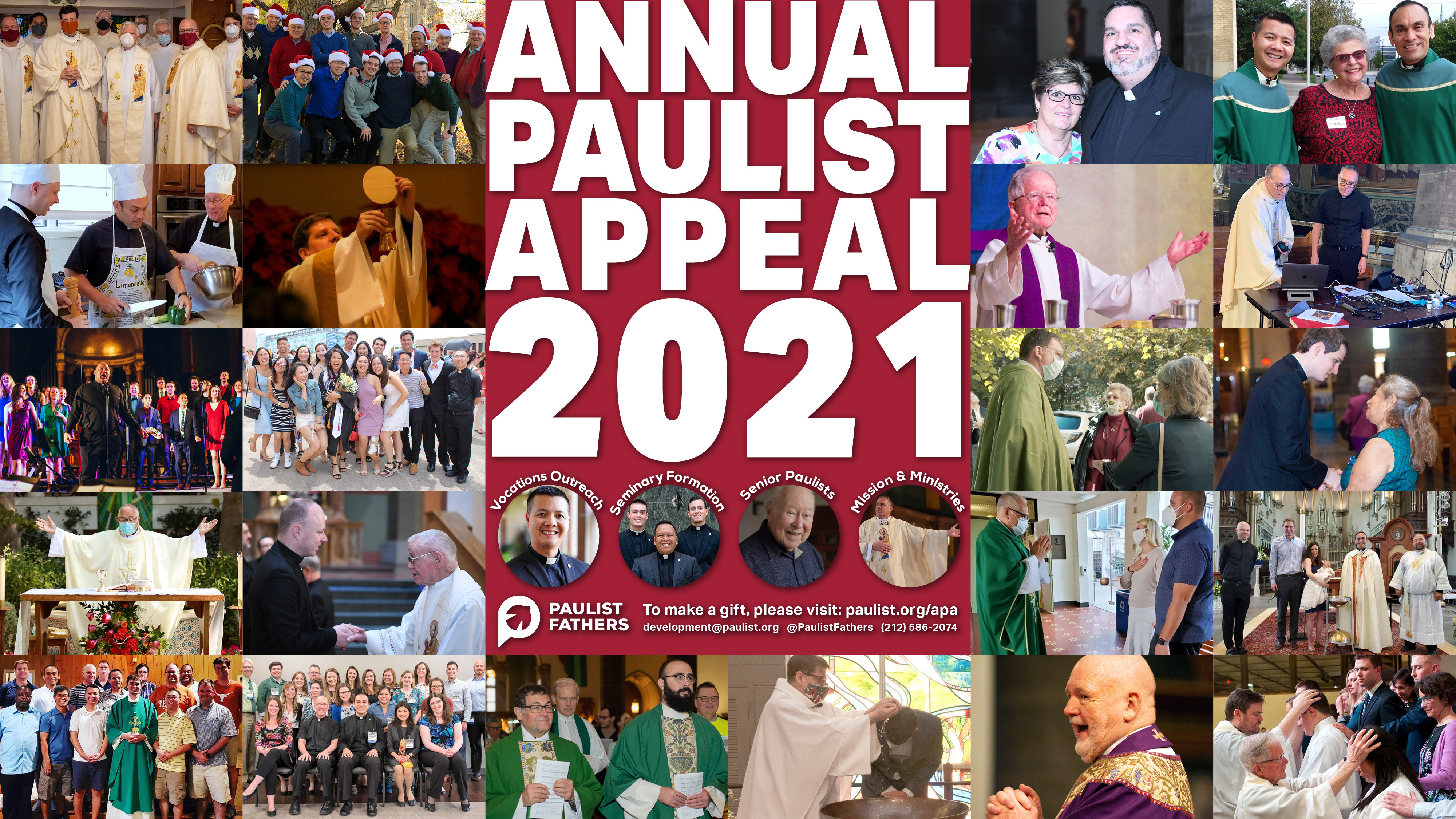 WATCH NOW: Annual Paulist Appeal