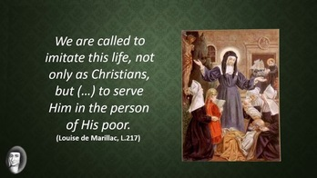 Sunday, August 30, 2020 - A Call to Action from St. Louise de Marillac
