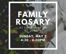 Family Rosary with Bishop Sweeney