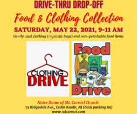 Drive-Thru Food & Clothing Collection
