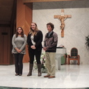 Teens Receive Rosen Awards for their witness in service