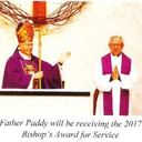 A Special Honor for Fr. Paddy!