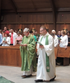 First Weekend with our New Priests!!