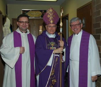 Bishop Serratelli Pastoral Visit