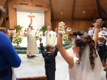 First Holy Communions 2016!
