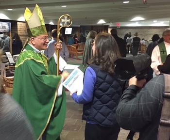 Bishop Serratelli's Pastoral Visit