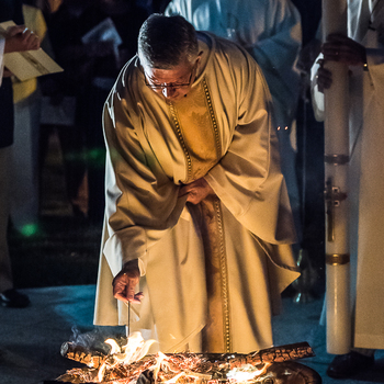 From Dark to Light: Easter Vigil 2017