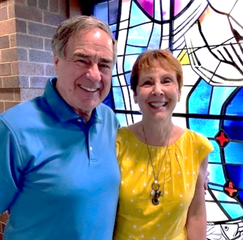 Linda & Jim Baratte, 2019 Recipients of the Vivere Christus Est Award!