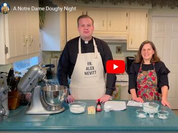 A Notre Dame Doughy Night!