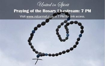 PRAYING OF THE ROSARY LIVESTREAM