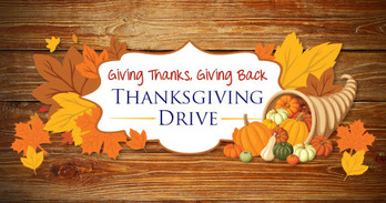 Season of Thanksgiving Food Drive