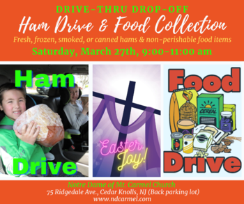 Easter Ham Drive & Food Collection