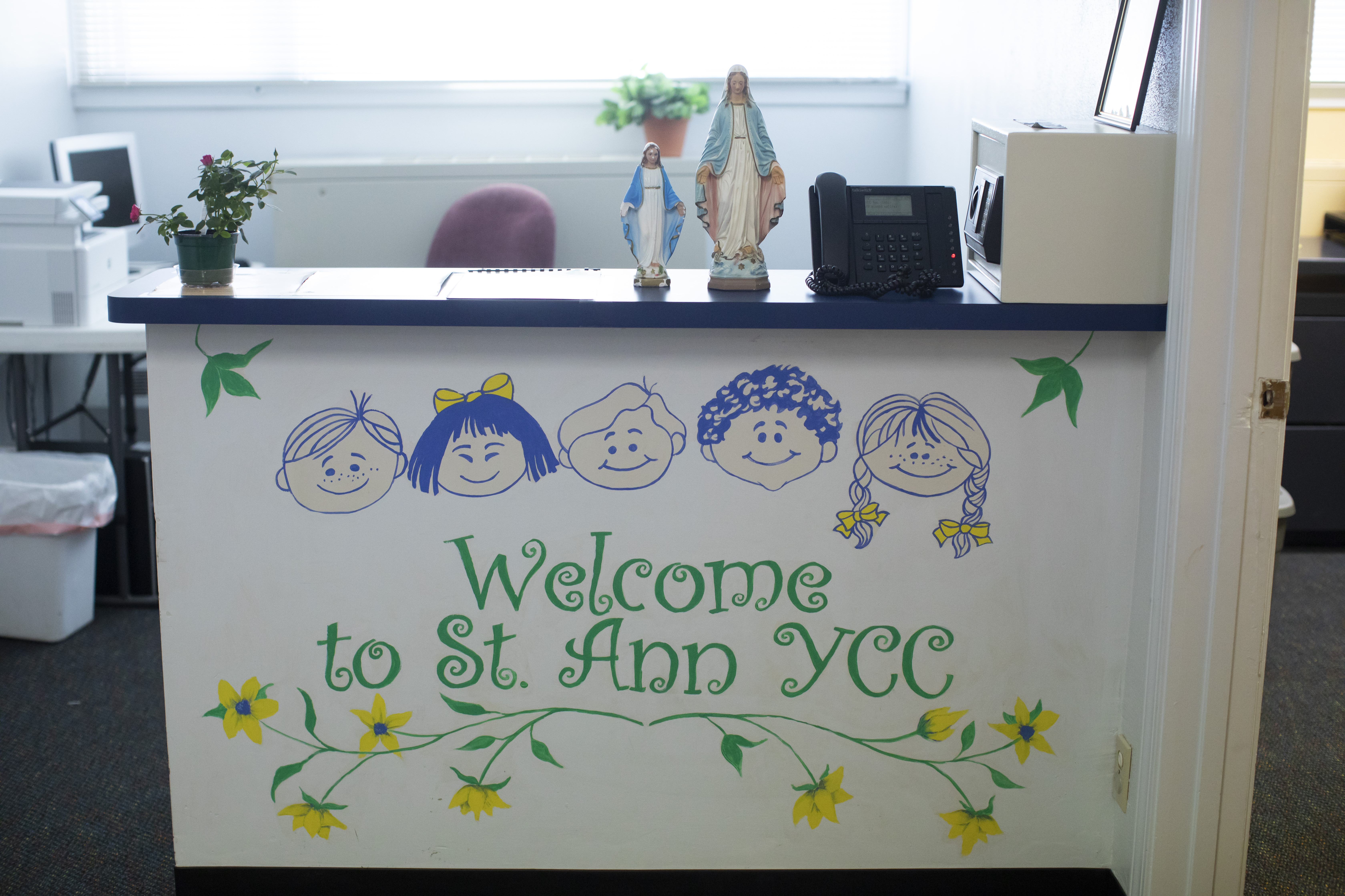 Welcome to the St. Ann Young Child Center