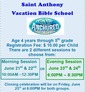 St. Anthony Vacation Bible School