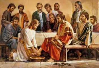 Washing of the Feet & Last Supper Mass