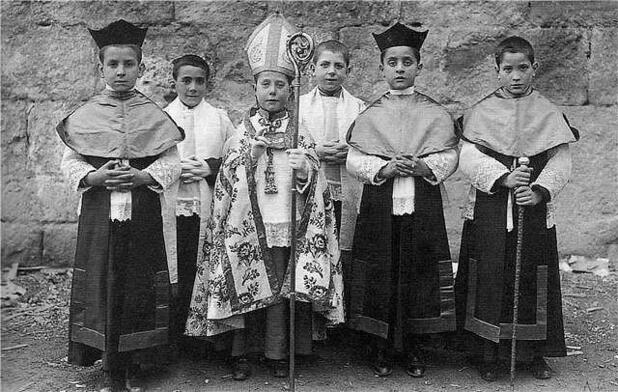 Boy-Bishop and Boy-Canons