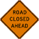Game Preserve Road Closed to through traffic