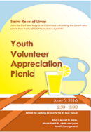 Come Celebrate our Youth Volunteers!