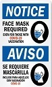 COVID-19 and Mask requirement