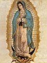Replica of the Tilma of Our Lady of Guadalupe